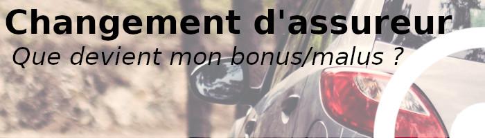 changer assureur bonus malus