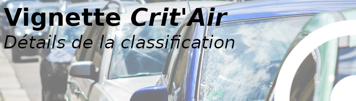 classification critair
