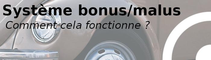 fonctionnement bonus malus