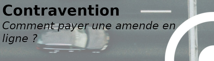 contravention en ligne