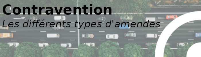 types amendes