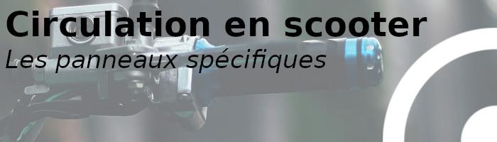 scooter circulation spécifique