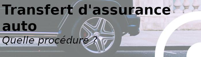 procédure transfert assurance auto