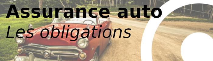 assurance auto obligations