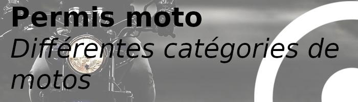 catégories moto permis