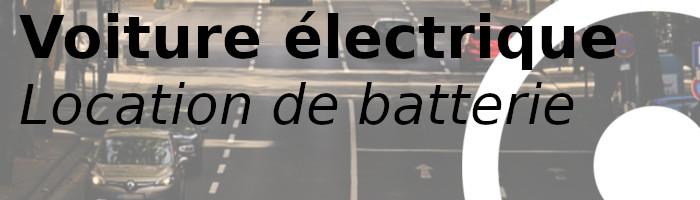 voiture électrique batterie