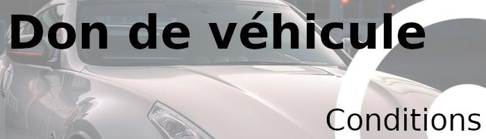 don véhicule