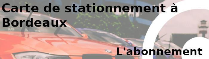 carte stationnement bordeaux