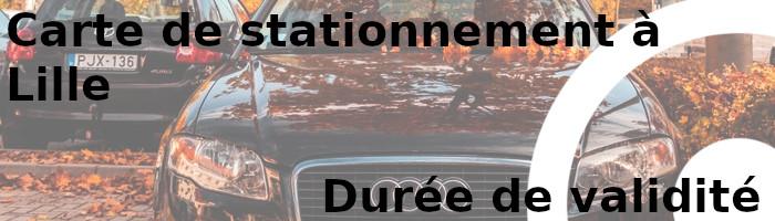 carte stationnement lille durée