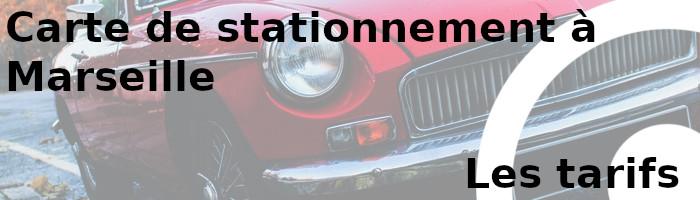 carte stationnement marseille tarifs