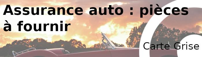 assurance auto carte grise