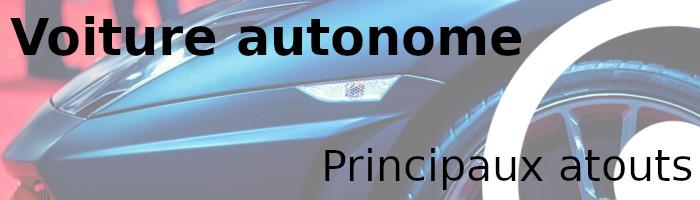 voiture autonome atout
