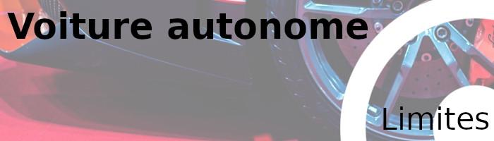 voiture autonome limites