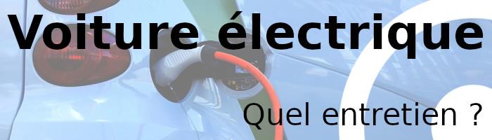 voiture électrique entretien