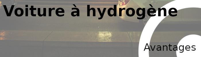 voiture hydrogène avantages