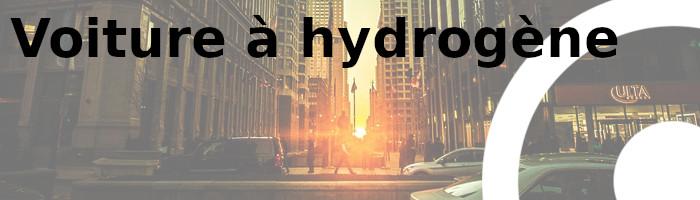voiture hydrogène