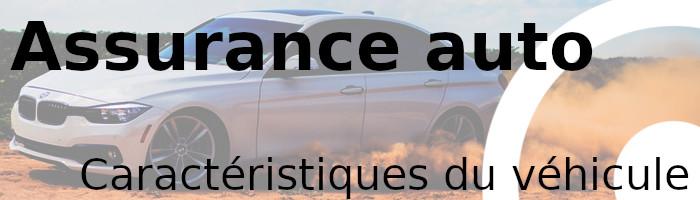 assurance caractéristiques véhicule