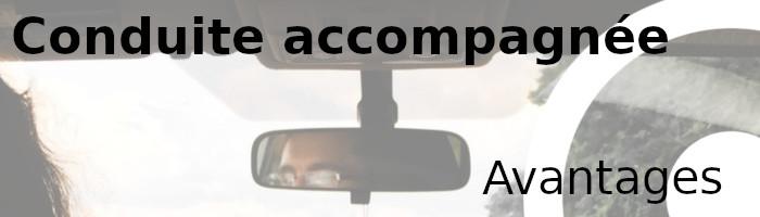 conduite accompagnée avantages