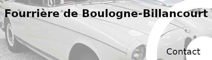 contact fourrière Boulogne-Billancourt