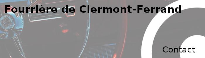 contact fourrière Clermont-Ferrand