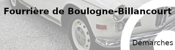 démarches fourrière Boulogne-Billancourt