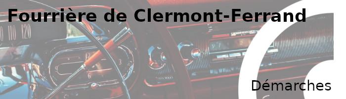 démarches fourrière Clermont-Ferrand