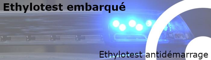 Ethylotest antidémarrage embarqué