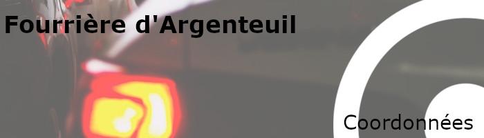 Coordonnées fourrière Argenteuil