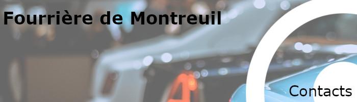 Contacts fourrière Montreuil