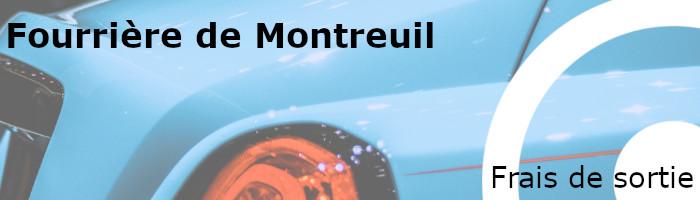 Frais de sortie fourrière Montreuil