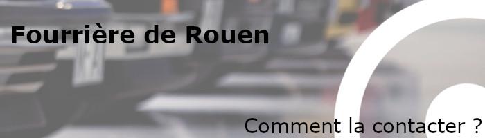 Contacter fourrière Rouen