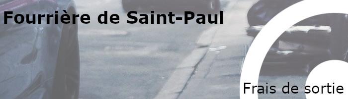 Frais de sortie fourrière Saint-Paul