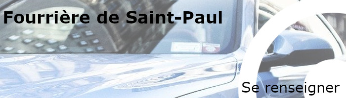 Se renseigner fourrière Saint-Paul