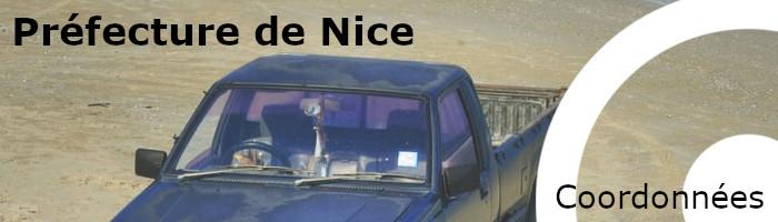 coordonnées préfecture Nice
