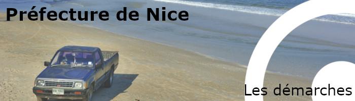 démarches préfecture Nice