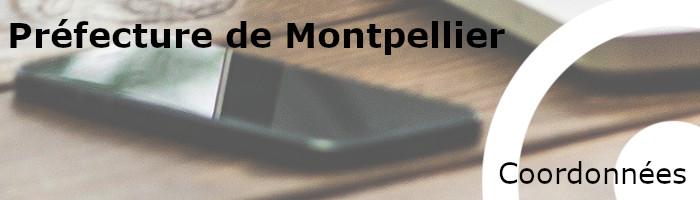 coordonnées préfecture montpellier