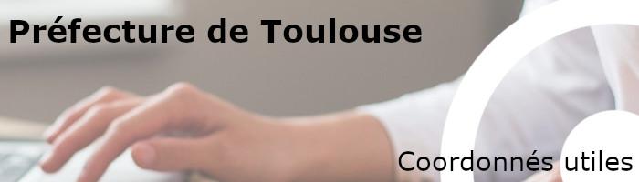Coordonnées préfecture Toulouse