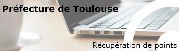 Récupération points préfecture Toulouse