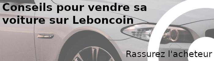 rassurez acheteur vendre leboncoin