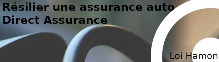 résilier direct assurance loi hamon