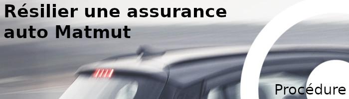 procédure résilier assurance matmut